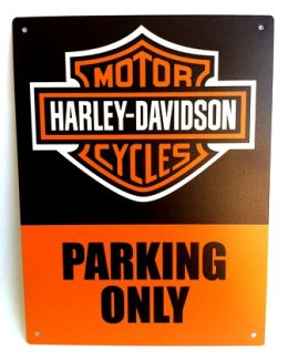Placa Harley Parking Only - Pequena