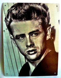 Placa James Dean - Pequena