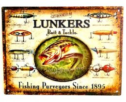 Placa Lunkers - Pequena