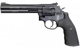 Revólver de CO2 Smith & Wesson Modelo 586 Calibre 4.5 mm - Cano 6 Polegadas