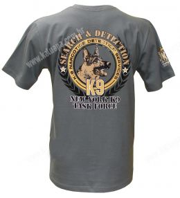 Camiseta K9 Task Force (Cinza)
