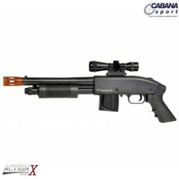 Airsoft Rifle Mossberg M590 Mola Plast BB 6mm