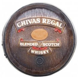 Barril Decorativo Pequeno - Chivas Regal