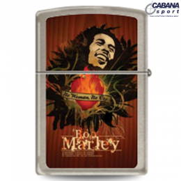 Isqueiro Star Lighters - Modelo Bob Marley