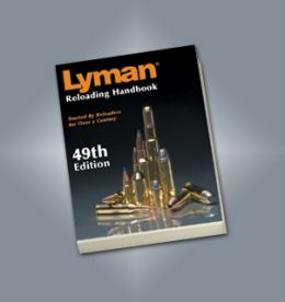 Lyman Reloading Handbook 49th Edition - Capa Flexivel