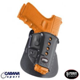Coldre Fobus GL-2ND -Pistola Glock 17/19/22/23/32/34/35 - Canhoto