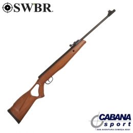 Carabina SWBR Hunter Wood 5,5 mm