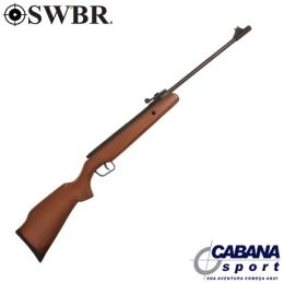 Carabina SWBR Wood Engraved 4,5 mm