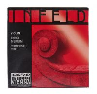 Encordoamento Cordas Violino 4/4 - Thomastik Infeld Red - Mi Dourada