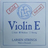 Corda Avulsa Mi Violino 4/4 - Larsen Strings - Ball end - Dourada