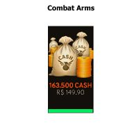 Combat Arms - 163.500 Cash - LevelUpGames