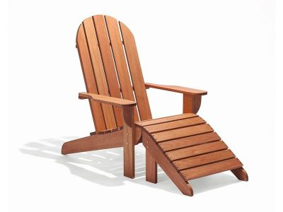Cadeira Adirondack Michigan Madeira Natural