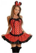 Fantasia Minnie com Corselet Importada