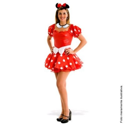 Fantasia Minnie Heat Girls Sulamericana  - foto principal 1