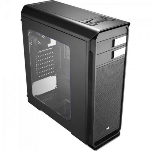 Gabinete Gamer Mid Tower AERO-500 WINDOW EN55576 Preto AEROCOOL