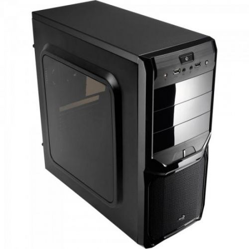 Gabinete Gamer Mid Tower V3X WINDOW Preto AEROCOOL