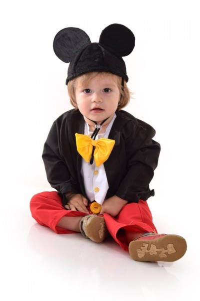 Fantasia Mickey Mouse Fraque Luxo