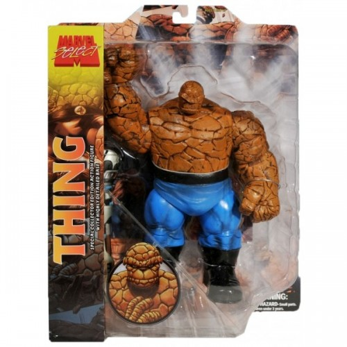 Boneco colecionável Thing - Marvel Select  - foto principal 1