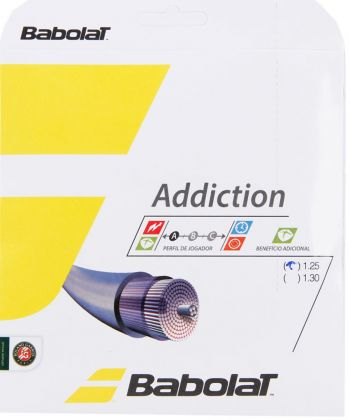Corda Babolat Addiction 1.25mm 17L Set Individual