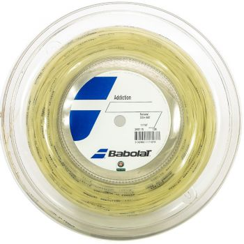 Rolo de Corda  Babolat Addiction Rolo 200M 1.25mm 17L  - foto 1