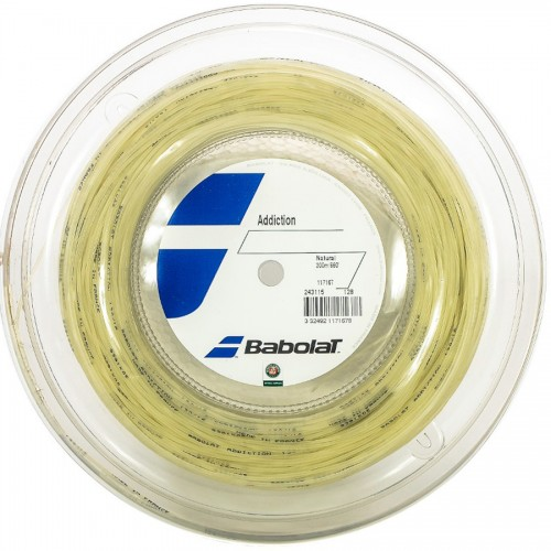 Rolo de Corda  Babolat Addiction Rolo 200M 1.25mm 17L  - foto principal 1