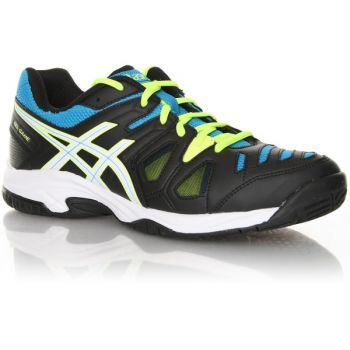 Tênis Asics Gel Game 5 Gs Onxy/ White/ Atomic Blue Infantil