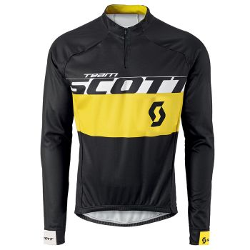 Camisa Ciclismo Scott Rc Team ML Pto/Am