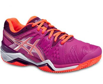 Tenis Asics Gel Resolution 6 Clay Berry/Flash coral/Plum