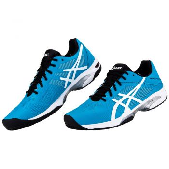 Tênis Asics Gel Solution Speed 3 All Court BlueJewel/White/Black  - foto 4