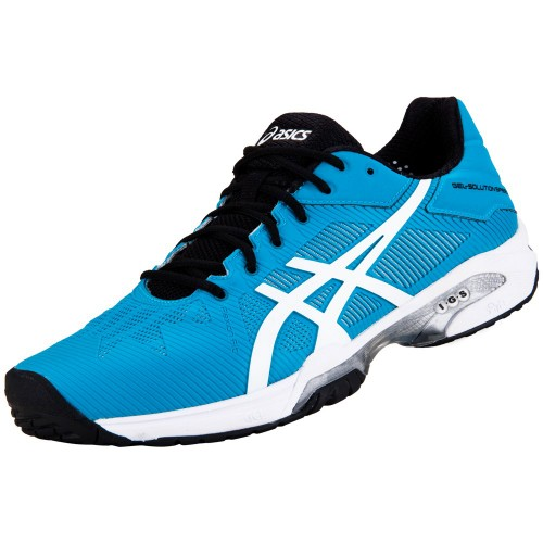 Tênis Asics Gel Solution Speed 3 All Court BlueJewel/White/Black  - foto principal 1