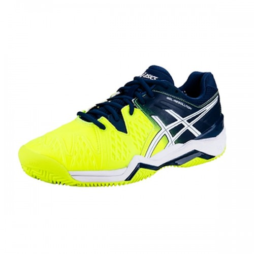 Tenis Asics Gel Resolution 6 Clay Safety/Yellow/White 43  - foto principal 1