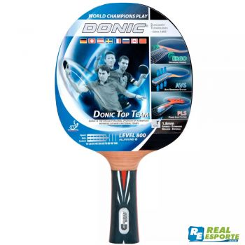 Raquete De Tenis De Mesa - Donic Top Team Level 800
