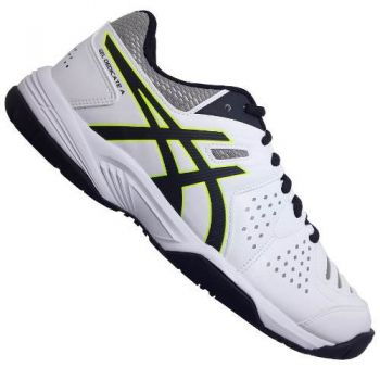 Tenis Asics Gel Dedicate 4 All Court White/Black/Flash Yelllow