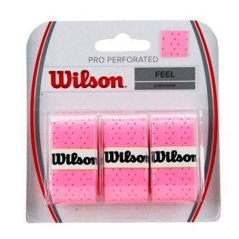 Overgrip Wilson Pro Perforated Rosa