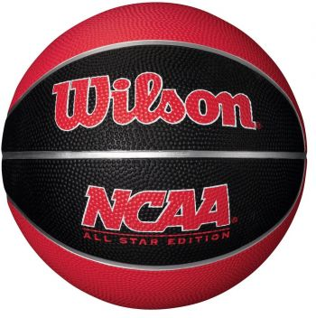 BOLA DE BASQUETE WILSON NCAA ALL STAR MINI EDITION VERMELHA