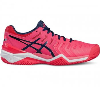 Tênis Asics Gel Resolution 7 Clay  Woman Diva Pink / Blue