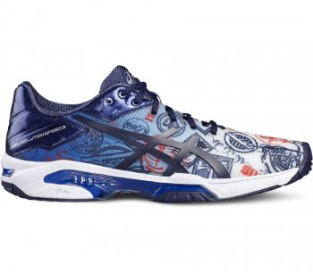 Tênis Asics Gel Solution Speed 3 L.E. Paris 44br