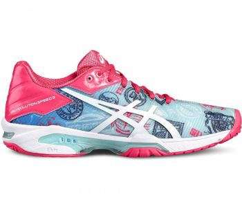 Tênis Asics Gel Solution Speed 3 L.E. Paris