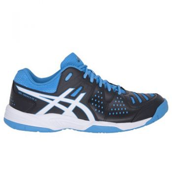 Tenis Asics Gel Dedicate 4 a Black/white/methyl Blue