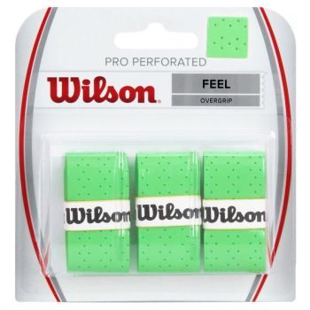 Overgrip Wilson Pro Perforated Verde