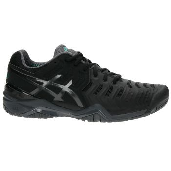 Tênis Asics Gel-Resolution 7 Black  - foto 4