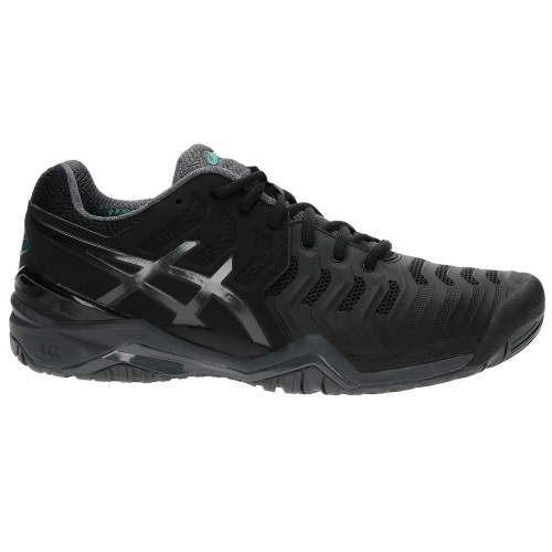 Tênis Asics Gel-Resolution 7 Black  - foto principal 2