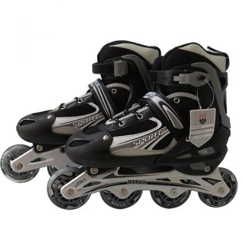 Patins Hyper Sports preto Regulável