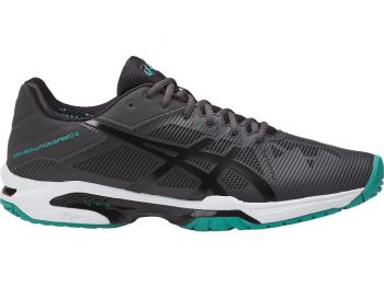 Tênis Asics Gel Solution Speed 3 Dark Grey /  Black / Lapis