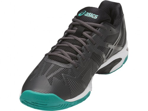 Tênis Asics Gel Solution Speed 3 Dark Grey /  Black / Lapis  - foto principal 7