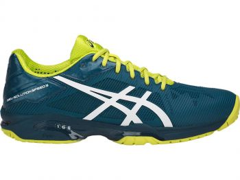 Tênis Asics  Gel Solution Speed 3 Blue/Wh/Sulphur