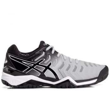 Tênis Asics Gel-Resolution 7 Mid Masculino - Cinza