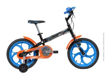 Bicicleta Caloi Infantil Hot wheels Aro 16