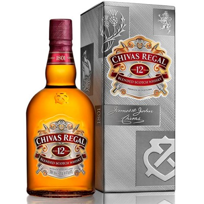 Whisky Chivas Regal - 12 Anos - 1000ml