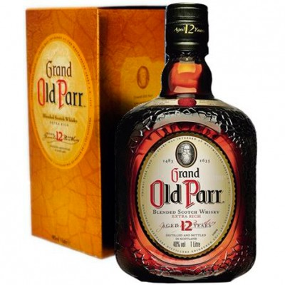 Whisky Grand Old Parr - 12 Anos - 1000ml